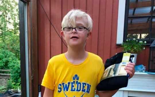 Dante, 12, försvann på tisdag kväll.