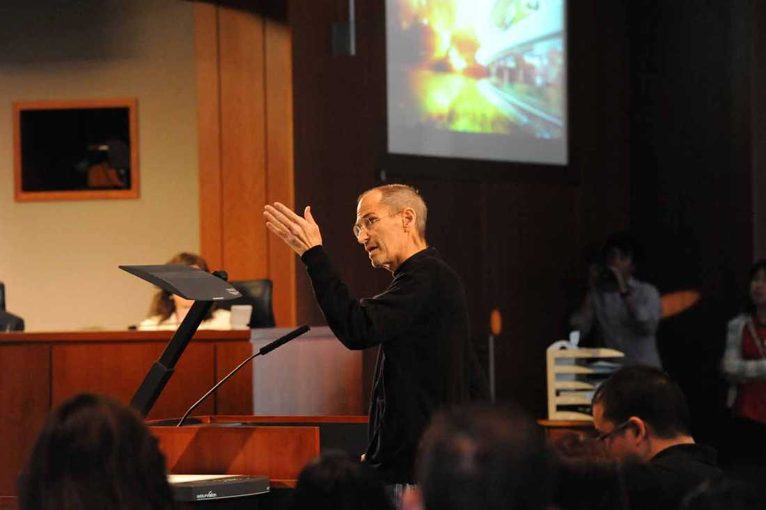 Framtiden I juni 2011 gjorde Steve Jobs ett överraskande framträdande för de styrande i Cupertino, Kalifornien. Han presenterade planerna på Apples nya högkvarter.