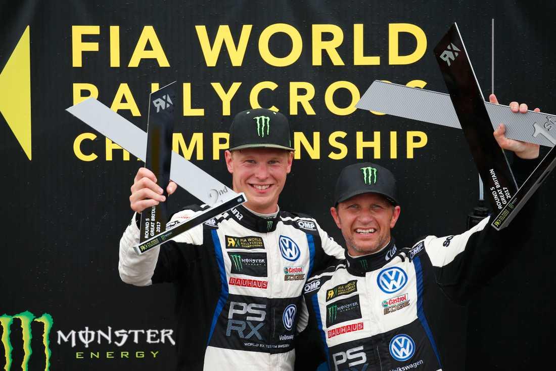 Tvåa i sista racet - nu leder Johan Kristoffersson VM