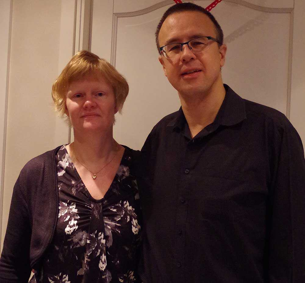 Ann-Cristine och Jonny Andersson.