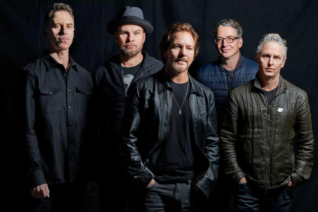 Pearl Jam. Skivorna visar bara en tiondel av vad bandet kan ställa till med live.