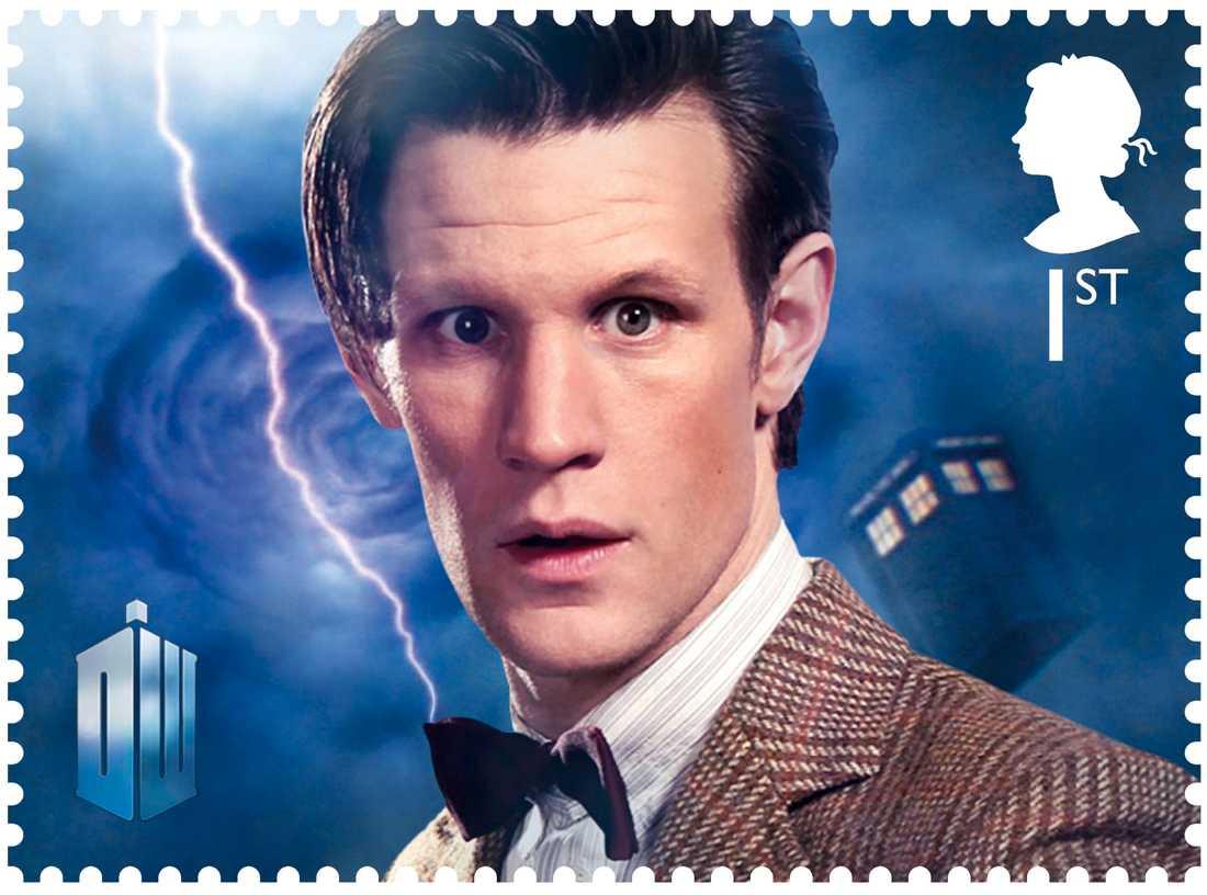"""Matt Smith var också """"Dr Who""""."""