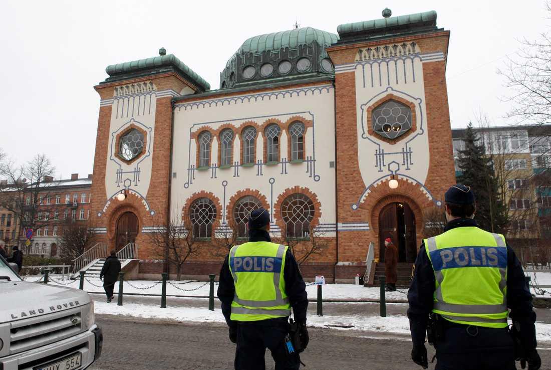 Synagogan i Malmö.