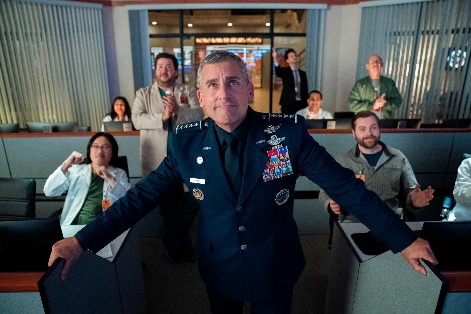 "Trailer för Steve Carells nya komediserie ""Space Force"""