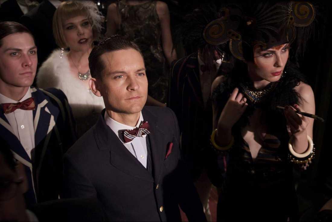"""Även Tobey Maguire och Kasia Stelmach gör roller i """"The Great Gatsby""""."""