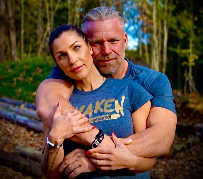 Michael Fridebäck och Irina Albers.