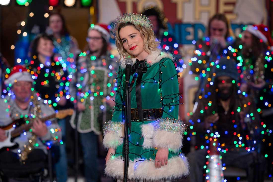 "Emilia Clarke i ""Last christmas""."