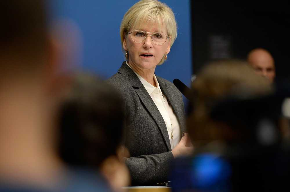 Utrikesminister Margot Wallström (S)