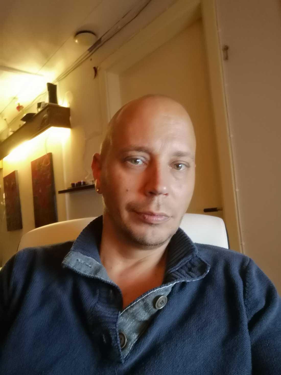 Peder Blohm Bokenhielm, ordförande i Bensinupproret