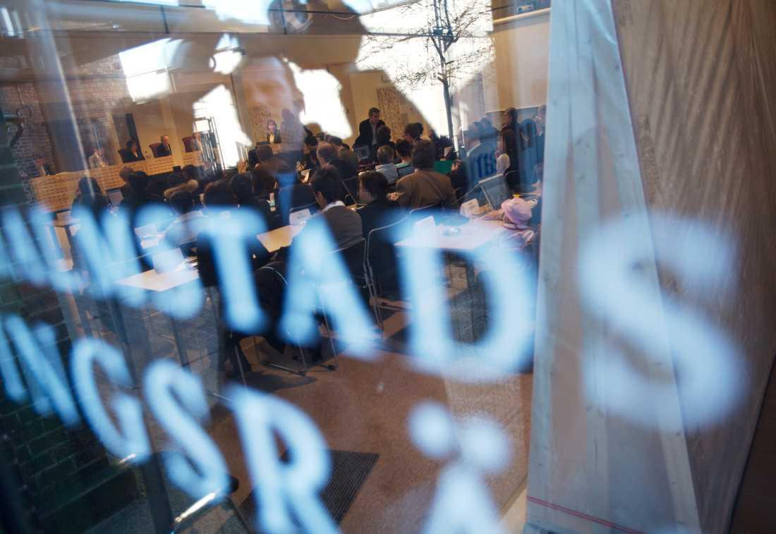 En 18-åring åtalas för barnpornografibrott vid Halmstads tingsrätt. Arkivbild.