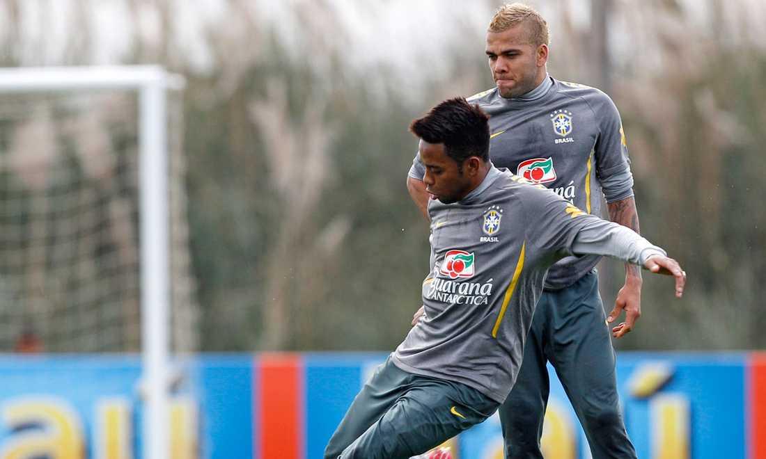 Robinho och Alves