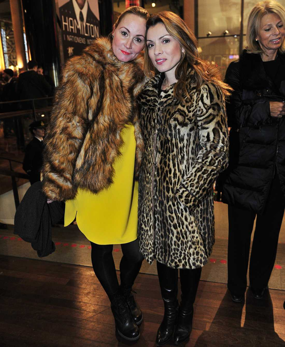 Alexandra Pascalidou med vän.