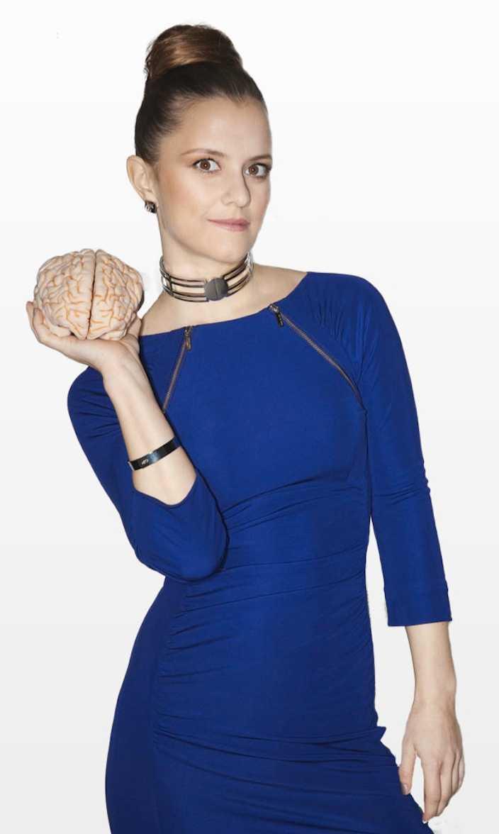 Hjärnforskaren Katarina Gospic.