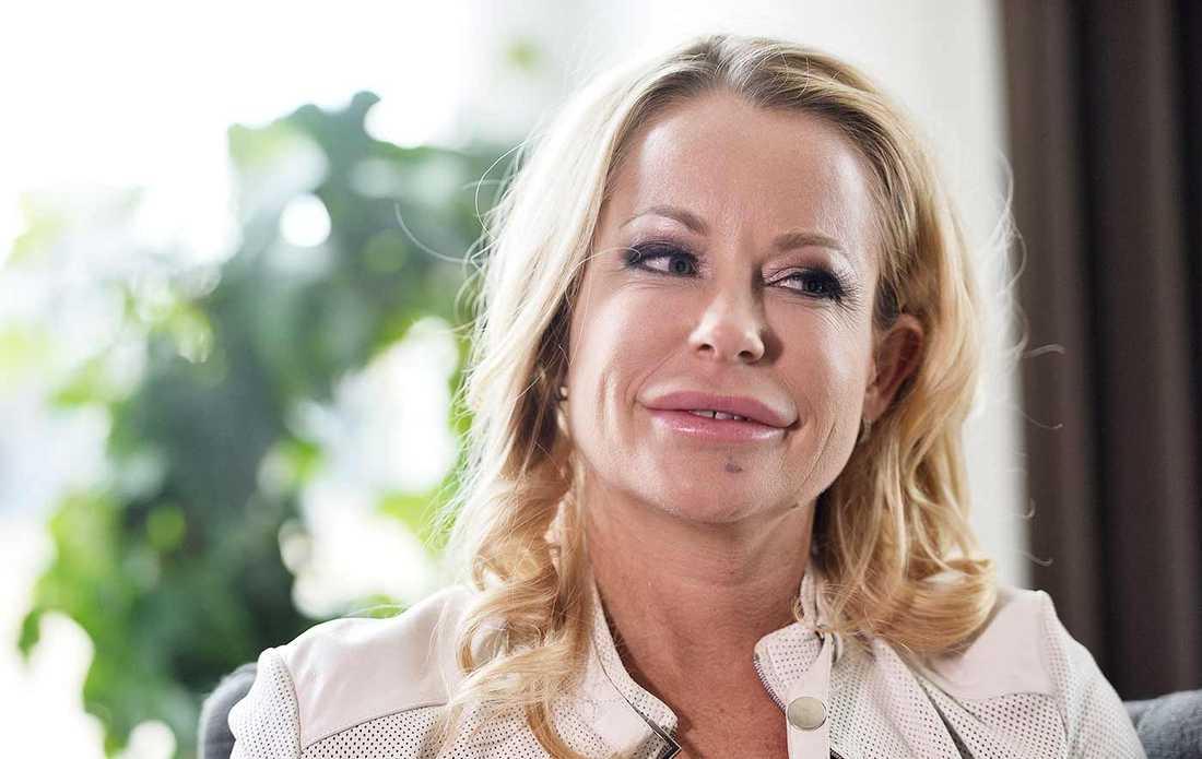Hollywoodfrun Åsa Vesterlund.