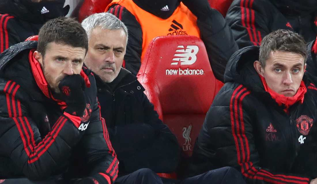 Carrick, Mourinho och McKenna.