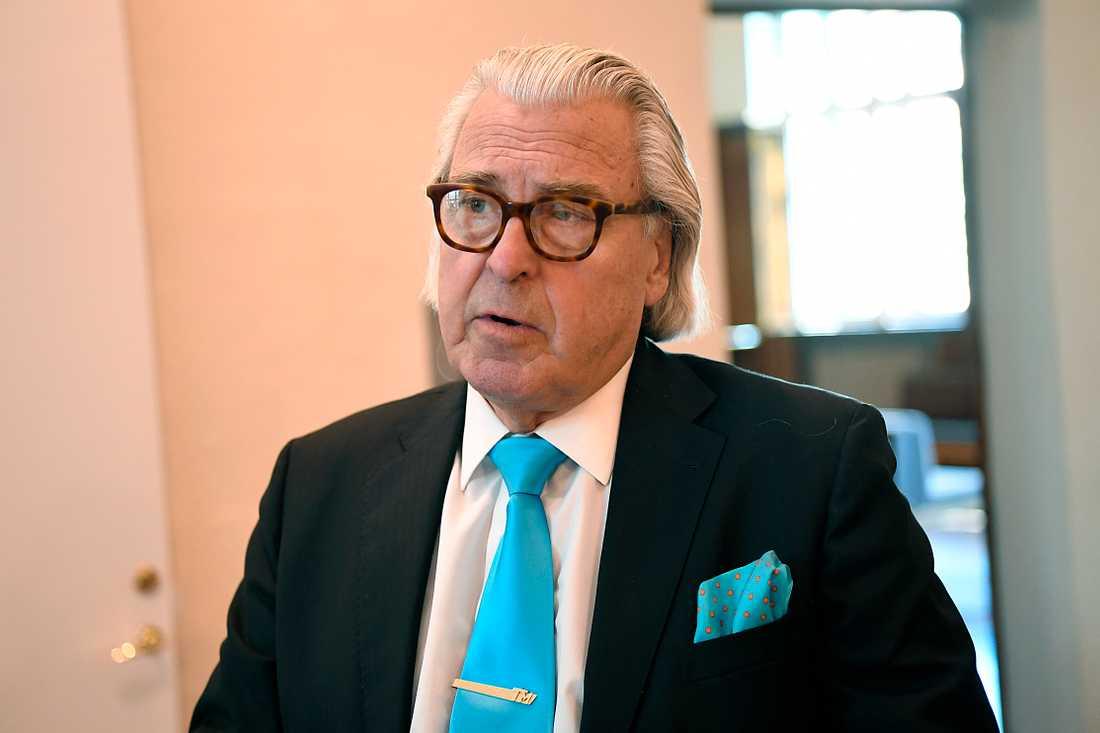 Thomas Martinson, advokat till en av de misstänkta.