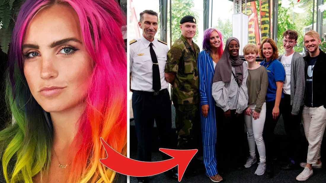 Svenska hjältars ungdomsdebatt fyllde Aftonbladets tält i Almedalen.