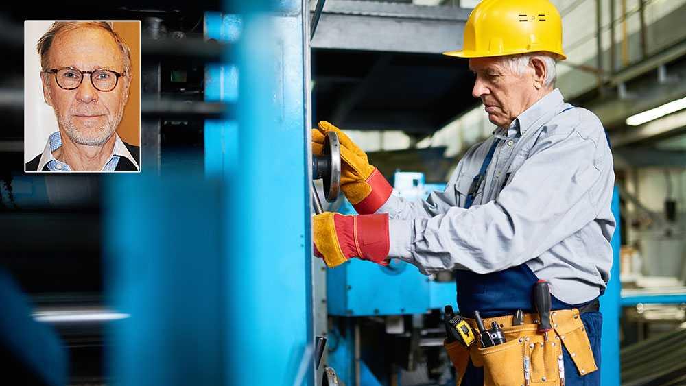 Medellivslängden ökar och befolkningen i Sverige blir allt äldre och friskare. Då är det sorgligt att samhället inte lyckas bättre med att ta tillvara äldres arbetskraft. I synnerhet som arbetsmarknaden framöver kommer att lida kronisk brist på personal, skriver Jöran Rubensson.