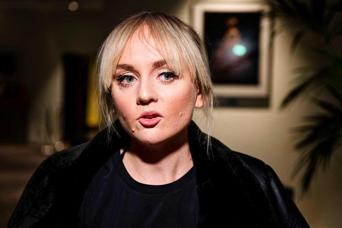 Anna Bergendahl var nervös över att komma tillbaka efter Eurovision-fiaskot.