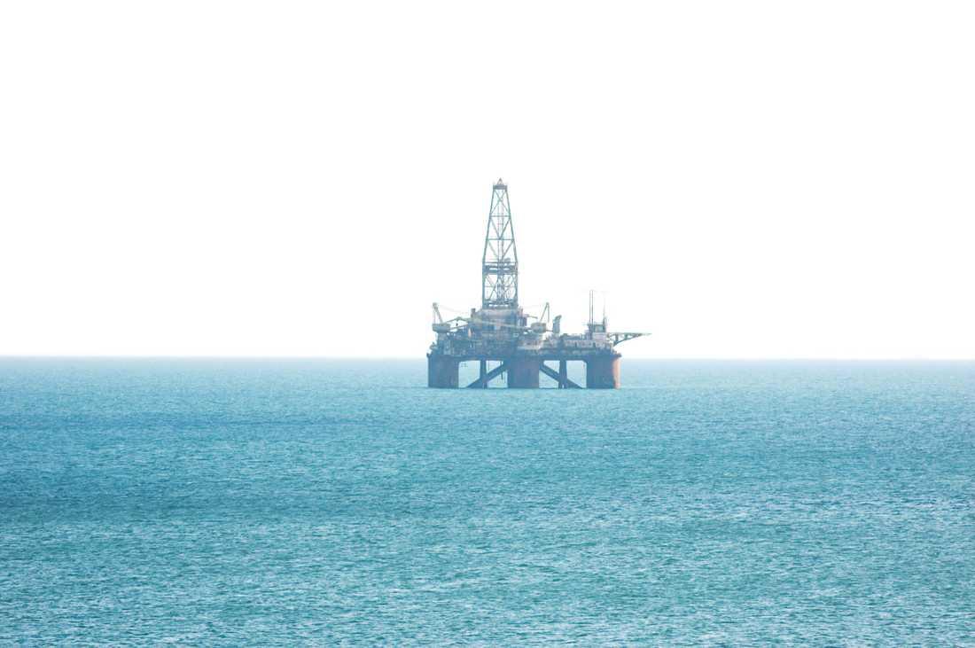 Enligt operatören kan oljefyndet göra Irland till oljeexportör. Bilden är tagen vid ett annat tillfälle, och visar inte det aktuella fyndet utanför Irland.
