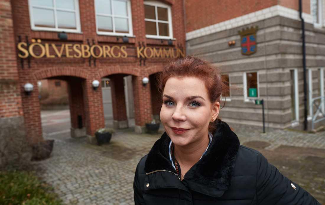 Louise Erixon (SD), kommunalråd i Sölvesborg.