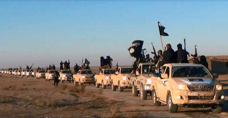 IS kontroller nu en tredjedel av både Syrien och Irak, enligt AP.