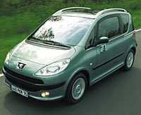 Peugeot 1007 var den säkraste bilen i Euro NCAP:s krocktest.