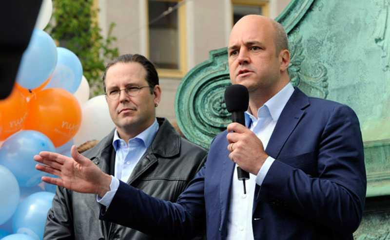 FIRMA BORG & REINFELDT Både finansministern och statsministern begav sig till Göteborg för att peppa väljarna och ragga röster i det viktiga omvalet i Västra Götanland.
