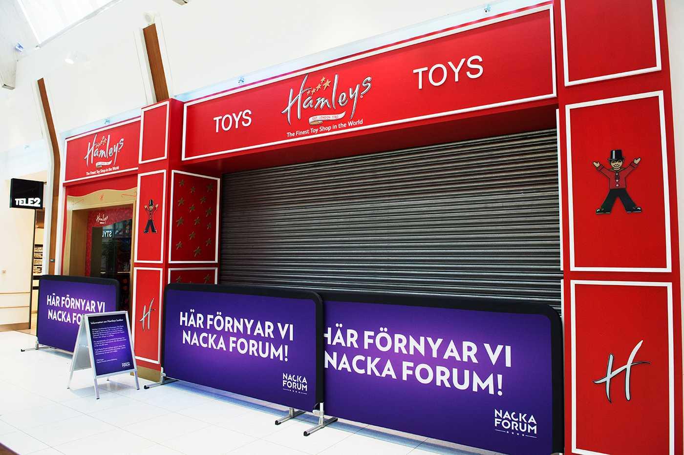Nu stängs de svenska Hamleys-butikerna efter att bolaget som driver dem gått i konkurs.