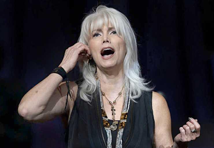 Countrysångerskan Emmylou Harris. Foto: AP