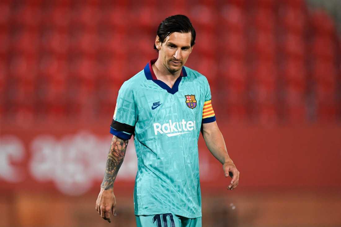 Lionel Messis Barcelona var först ut av giganterna.