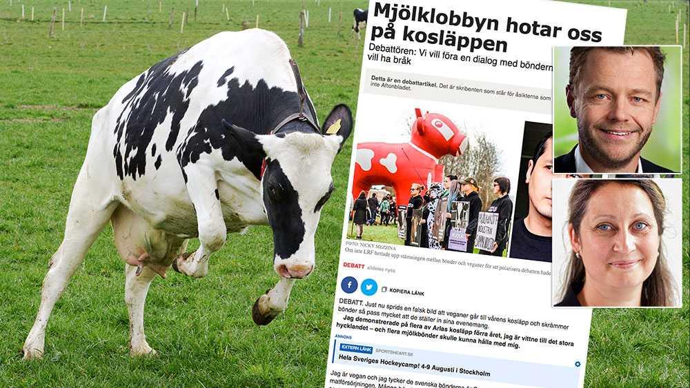 När Arlas ägare öppnar gårdarna för kosläpp, gör vi det med värme och stolthet. Vi hoppas att alla som kommer gör det för att gemensamt hylla den svenska matproduktionen, skriver Jonas Carlgren och Inger-Lise Sjöström, mjölkbönder och styrelseledamöter i Arla.