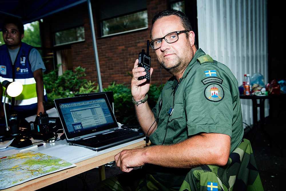 Christer Larsson är militär insatschef. Han kände inte till ryska erbjudandet om ytterligare ett vattenbombningsflygplan.