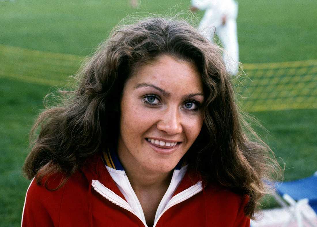 Bild från seger i Juliaden på Stockholms stadion 1976.