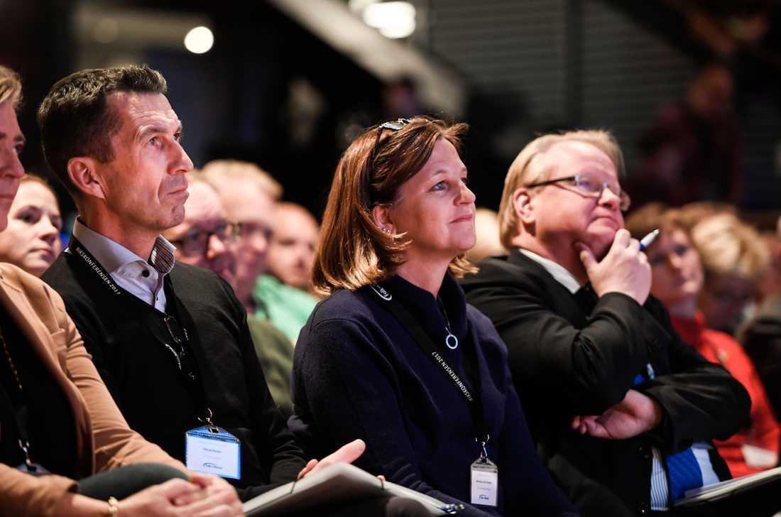 Marinette Nyh Radebo på Folk och försvars rikskonferens i Sälen. Arkivbild.