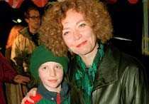 enda barnet Maria Leissners dotter Saga var bara 11 år då pappa Hans dog.