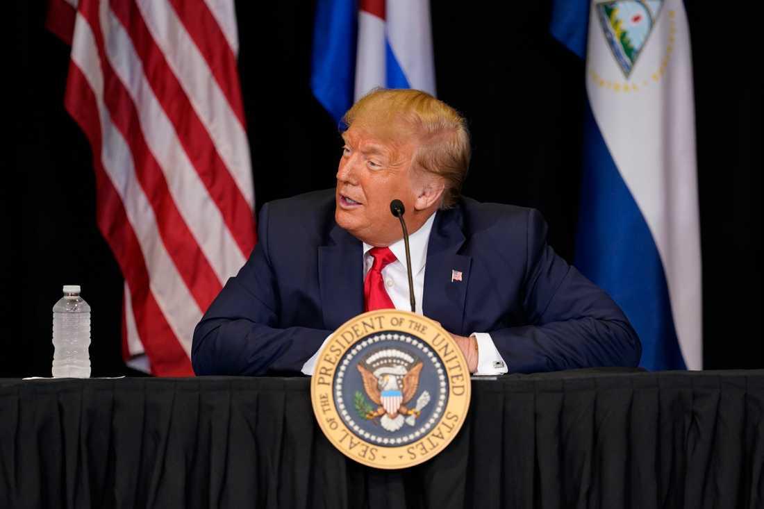 USA:s president Donald Trump.