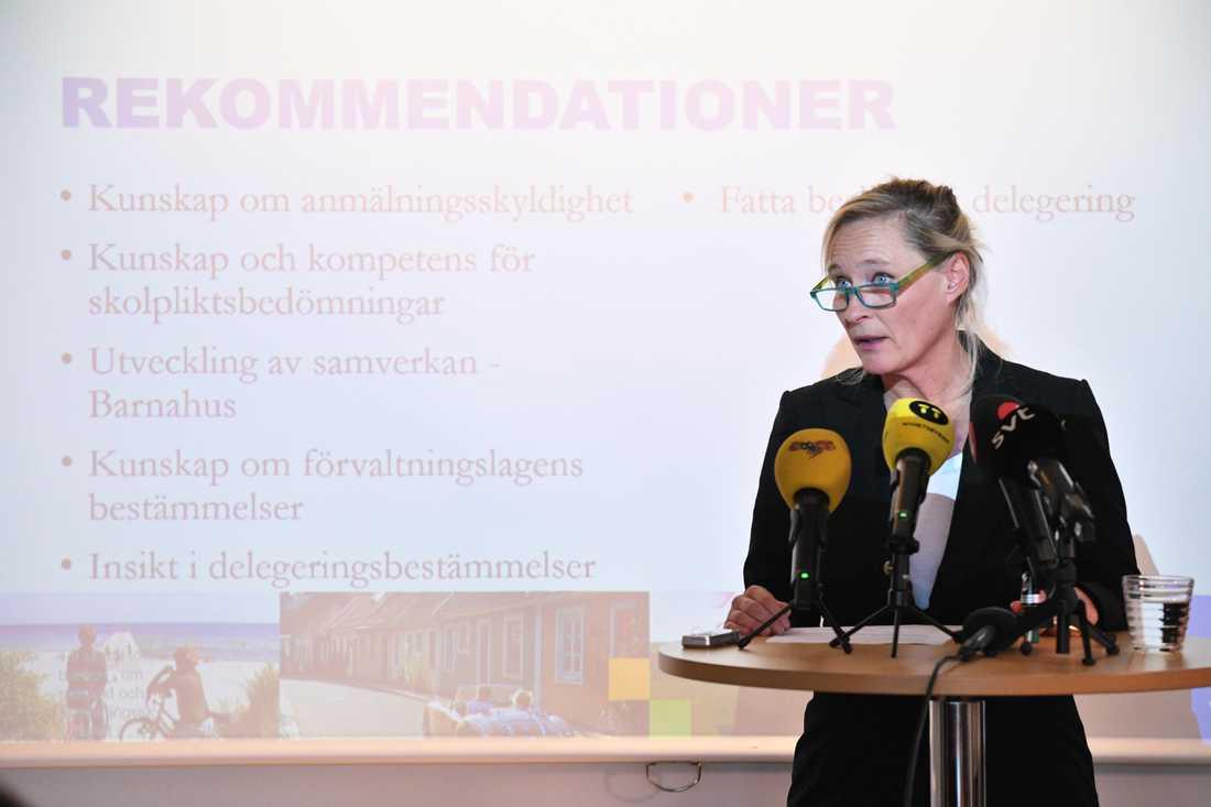 Mariana Vikström, nytillträdd kommundirektör i Ystad.
