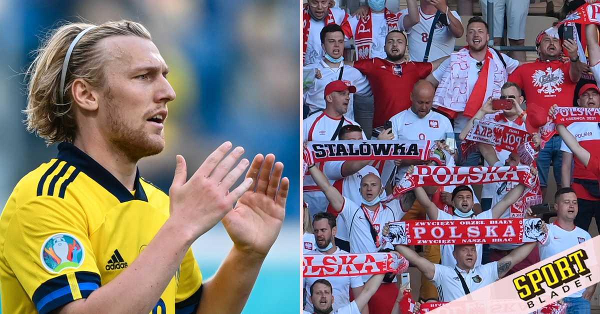 Höjd säkerhet vid spelarnas hotell – oro för polska fans