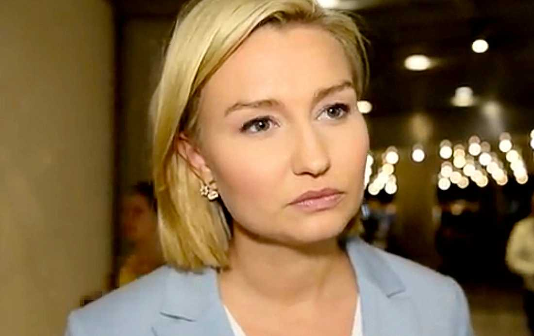 KD-ledaren Ebba Busch Thor.