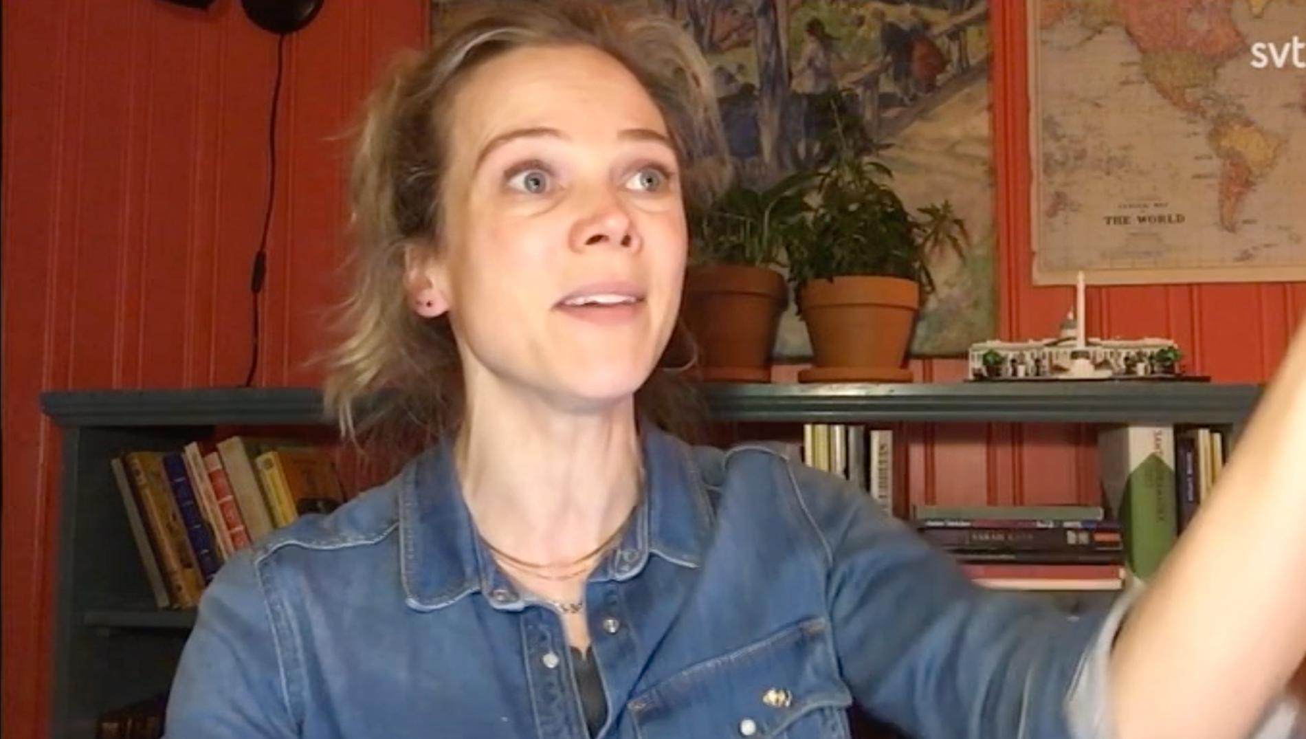 Ane Dahl Torp lever sig in i hur det skulle vara att ta emot priset på Guldbaggegalan.
