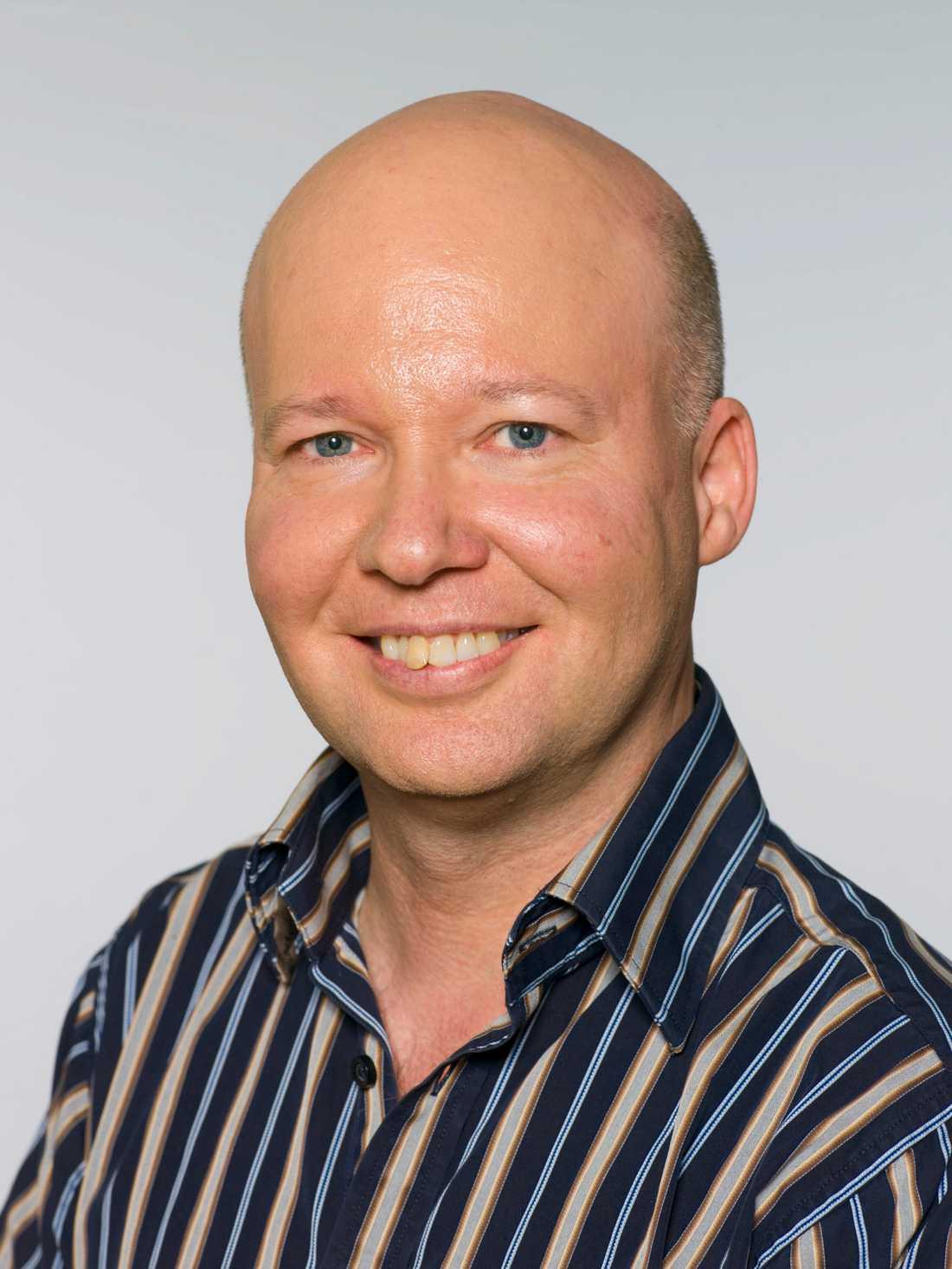 Före detta riksdagsledamoten Stefan Nilsson.