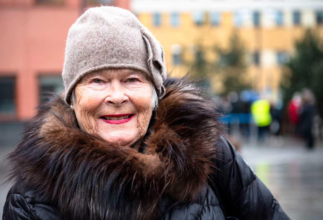 Ulla-Britt Dahl.