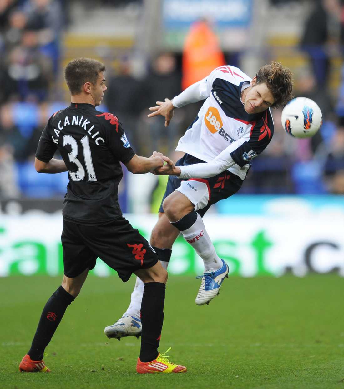 Premier League-spel för Fulham 2012–2014.