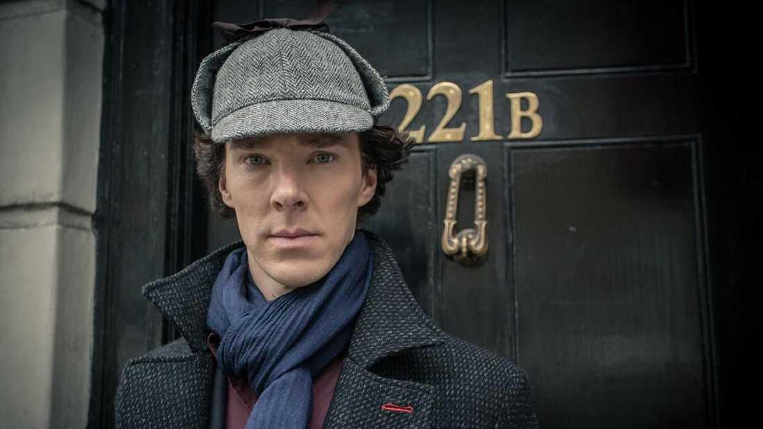 "Benedict Cumberbatch i ""Sherlock Holmes""."
