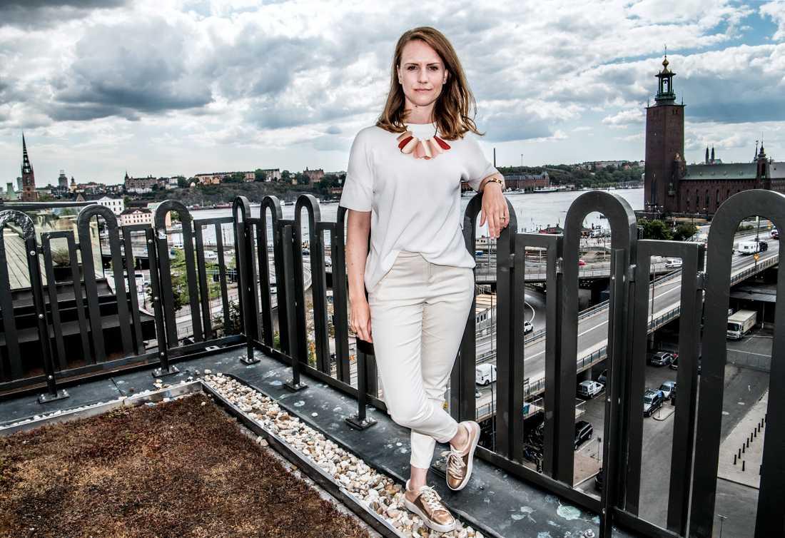 Sandra Bourbon startade upp Sveriges första jämställda aktieportfölj.