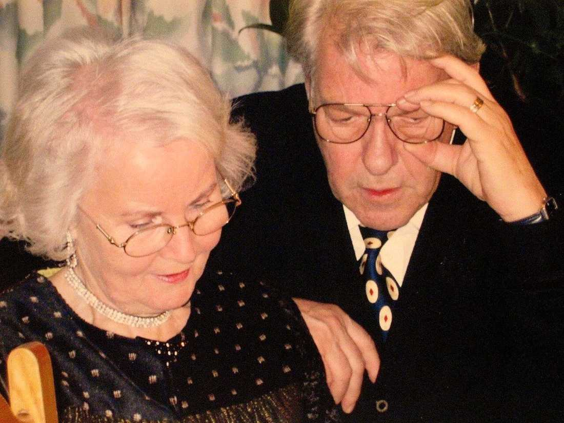 Farföräldrarna Inga, 83, och Tord, 84.