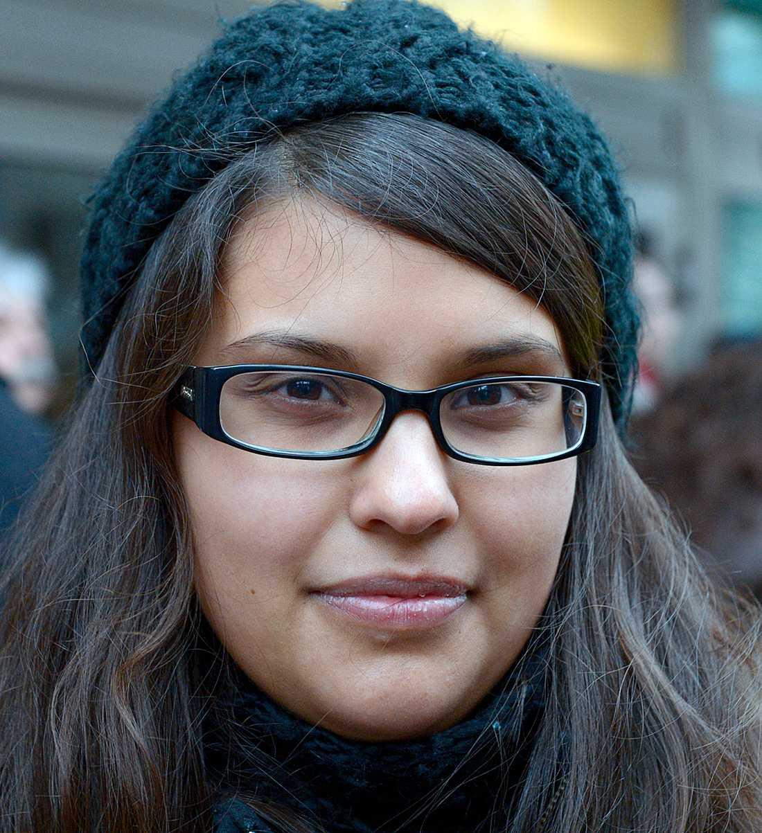 Sara Kukka-Salam, styrelseledamot i Hjärta – troende socialdemokrater i Stockholm, tycker att det är olyckligt att det har målats upp en bild av att det inte går att vara både muslim och socialdemokrat.