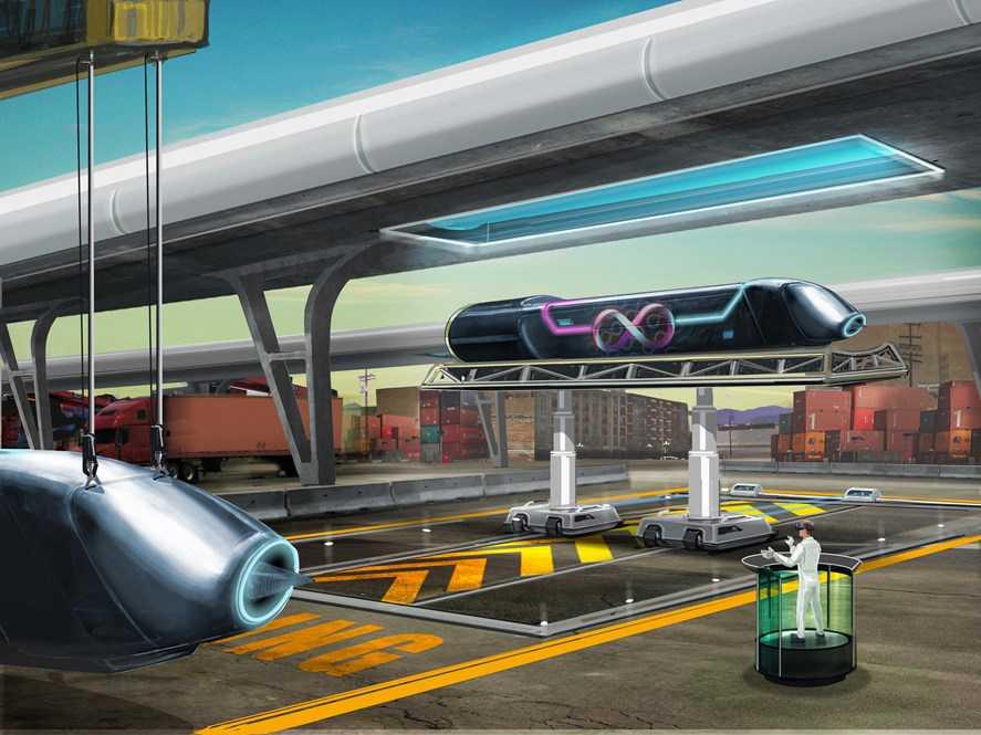 Hyperloop ska transportera människor i supersnabba kapslar.