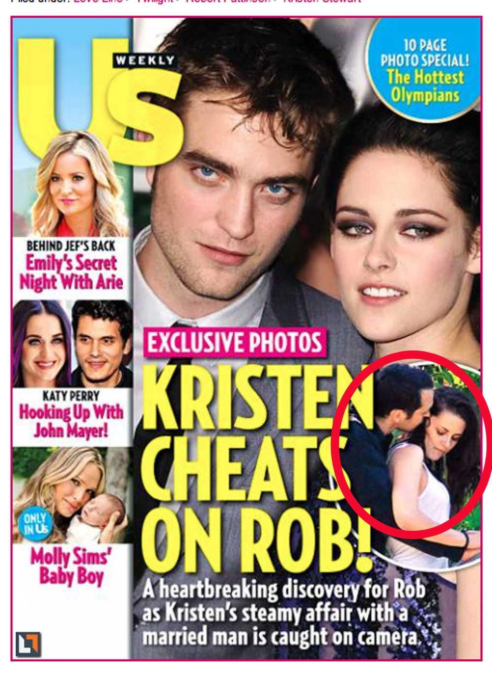 Omslaget av senaste Us Weekly.